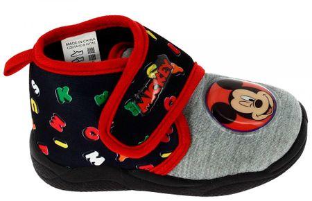Disney by Arnetta chlapecké bačkůrky Mickey Mouse 25 černá/šedá
