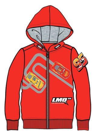 Disney by Arnetta fiú pulóver Cars 98 piros