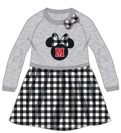 Disney by Arnetta haljina Minnie, sivo crna, 98