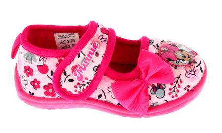9234f732ae5f Disney by Arnetta dívčí bačkůrky Minnie 27 růžová