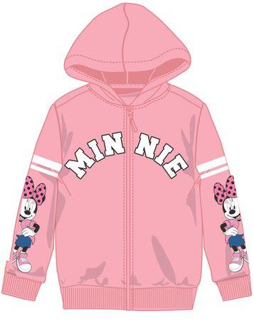 Disney by Arnetta dekliška jopa Minnie, 110, roza