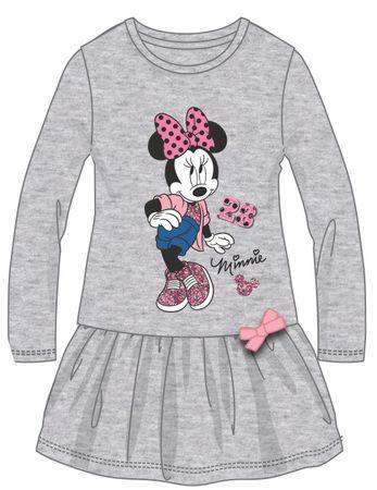 Disney by Arnetta dekliška obleka Minnie, 98, siva