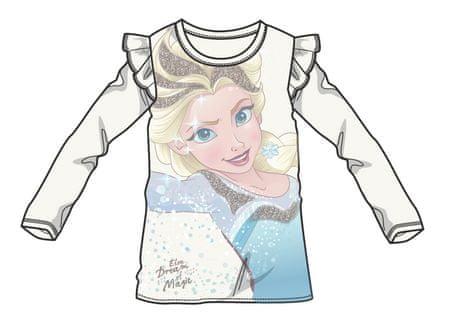 Disney by Arnetta majica za djevojčice Frozen, bijela, 98