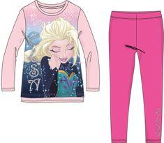 Disney by Arnetta komplet dekliške majice in pajkic Frozen