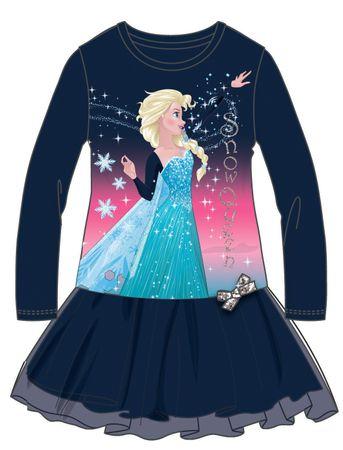 Disney by Arnetta dekliška obleka Frozen, 98, modra