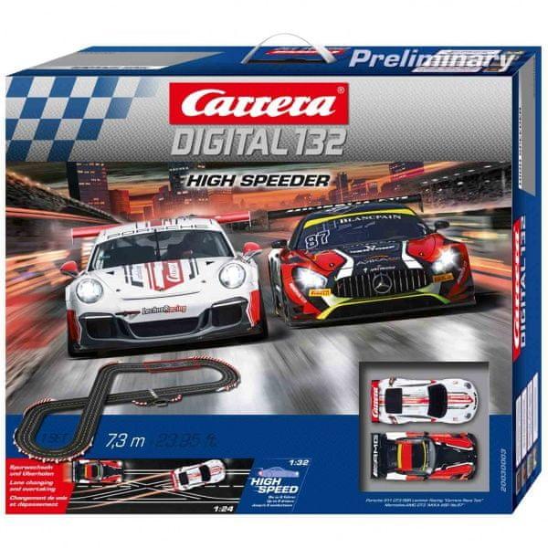 Carrera Autodráha D132 30003 High Speeder