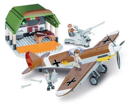 Cobi SMALL ARMY II WW Messerschmitt BF 109 Africká mise