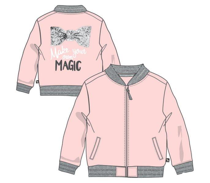 Mix 'n Match dívčí mikina 122 růžová