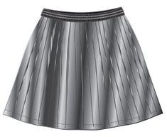 Mix 'n Match dívčí skládaná sukně