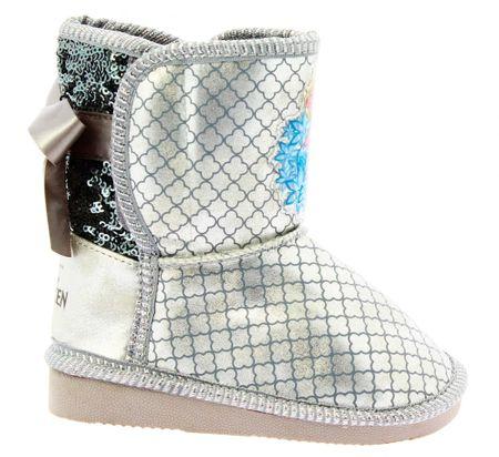 Disney by Arnetta dekliški škornji Frozen, 24, srebrni