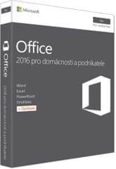 Microsoft Office Mac 2016 pre domácnosti a podnikateľov ENG (W6F-00952)