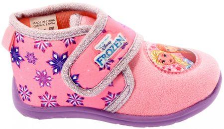 a28b4287060d Disney by Arnetta dívčí bačkůrky Frozen 24 světle růžová