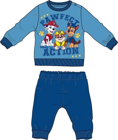 Disney by Arnetta deška pižama Paw Patrol, 80, modra