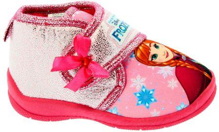 Disney by Arnetta dívčí bačkůrky Frozen 21 růžová