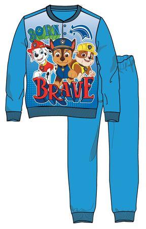Disney by Arnetta chlapčenské pyžamo Paw Patrol 80 modrá