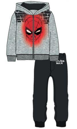 3118bd87b89 Disney by Arnetta chlapecká tepláková souprava Spiderman 98 šedá ...