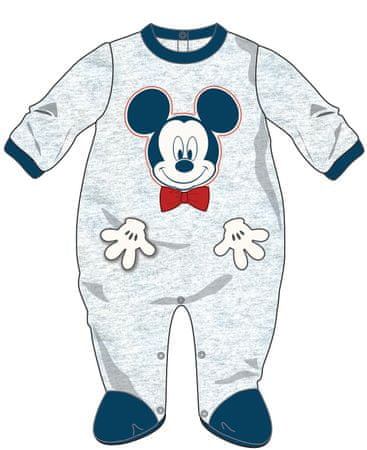 Disney by Arnetta otroški pajac Mickey Mouse, 62, moder/siv