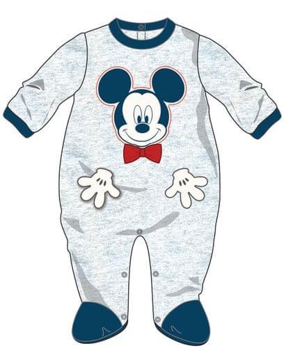 10f55edfec07 Disney by Arnetta chlapecký overal Mickey Mouse 62 šedá modrá