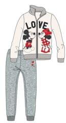Disney by Arnetta dívčí tepláková souprava Mickey a Minnie