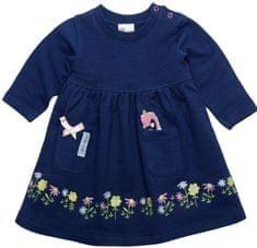 Gelati Dívčí tričko s dinosaurem a kytičkami