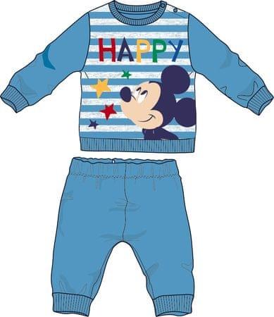 Disney by Arnetta chlapecké pyžamo Mickey Mouse 80 modrá
