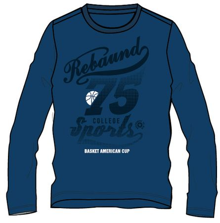 Mix 'n Match fantovska majica, 116, modra