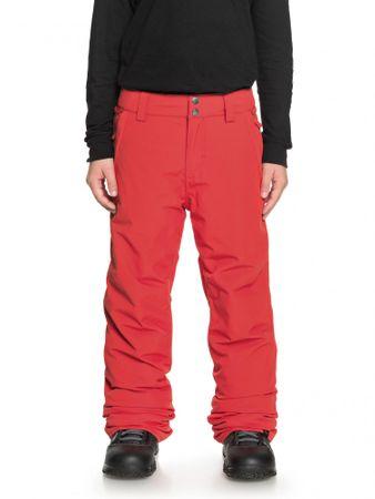 Quiksilver deške hlače Estate Pt B, L, rdeče