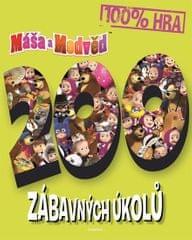 kolektiv autorů: Máša a medvěd - 200 zábavných úkolů