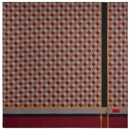 VERSACE 19.69 dámský červený šátek