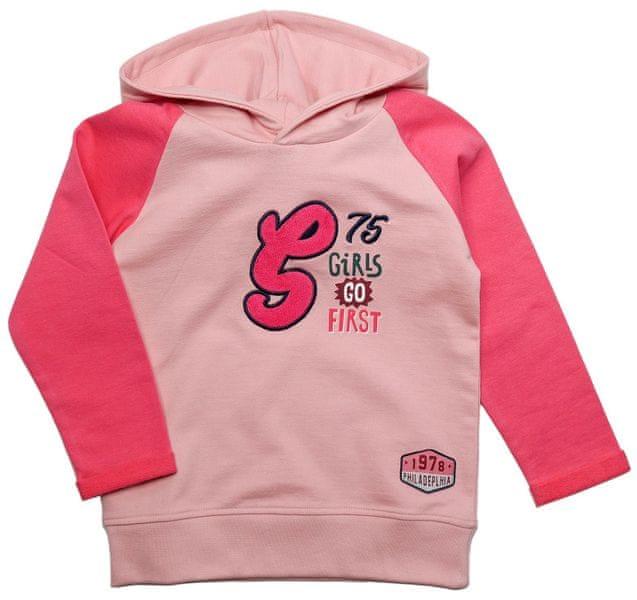 Gelati Dívčí mikina Girls 134 růžová