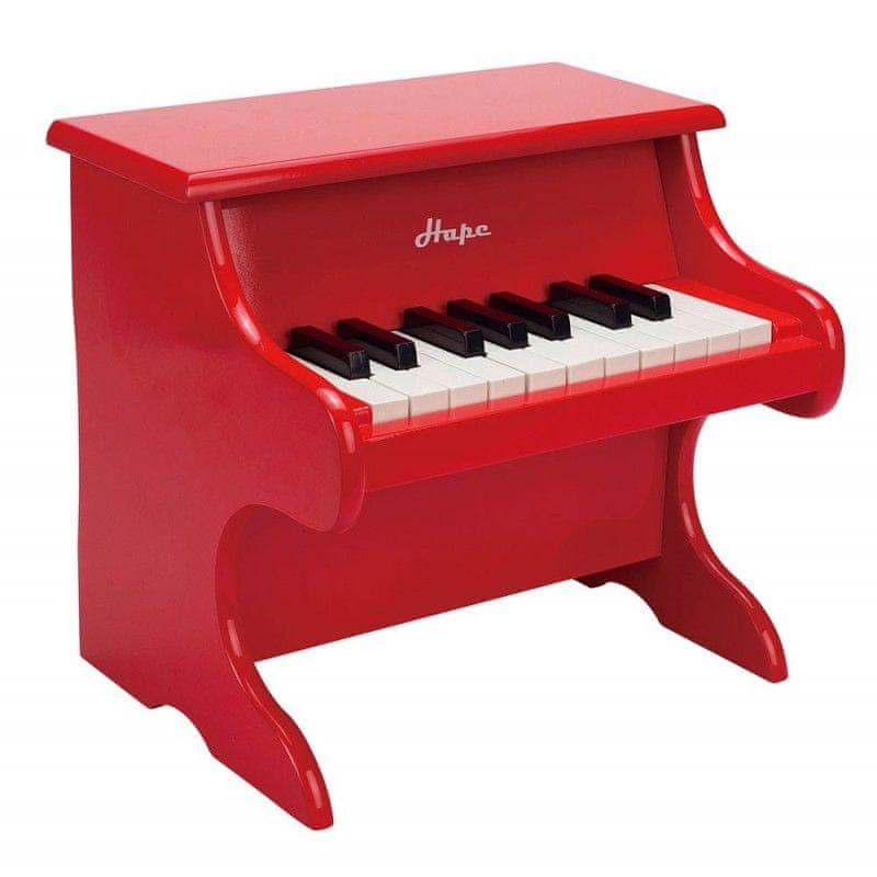 Hape Piano červené