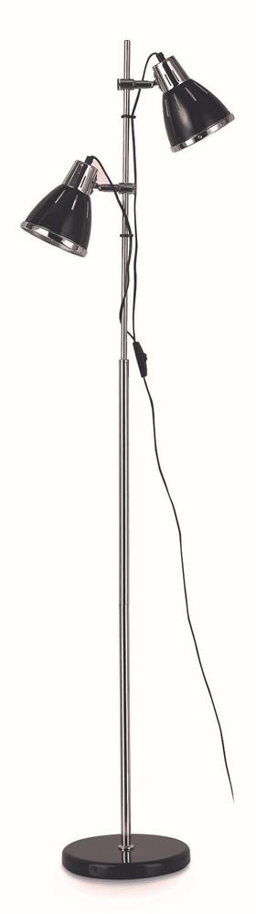Ideal Lux Stojací lampa Elvis černá 001197