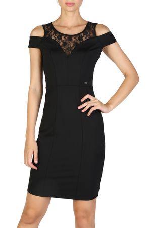 Guess dámské šaty M černá