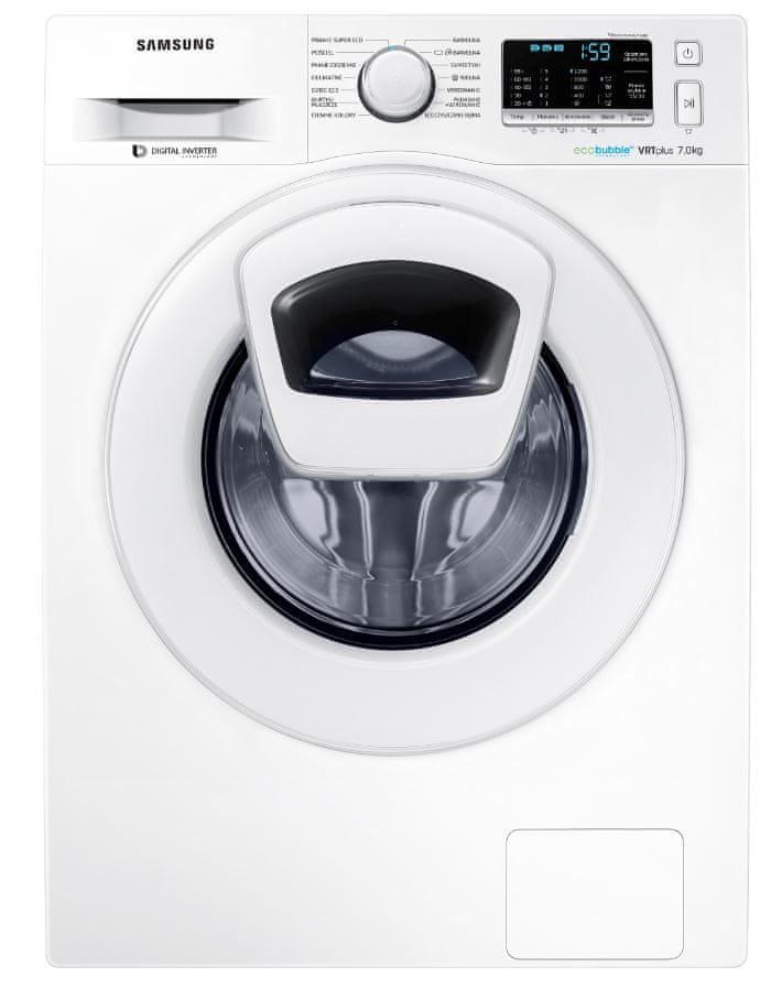 Samsung AddWash WW70K5210XW/LE + 10 let záruka na motor