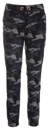 SAM73 ženske hlače WK 731 385, XXS, sivo-črne