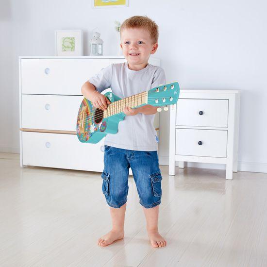 Hape Virágos gitár