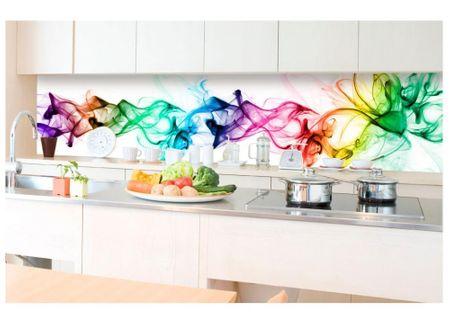 Dimex Fototapeta do kuchyne KI-350-073 Farebný dym 60 x 350 cm