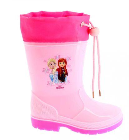 Disney by Arnetta dívčí holínky Frozen 24 růžová