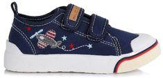 D-D-step fiú textil sportcipő