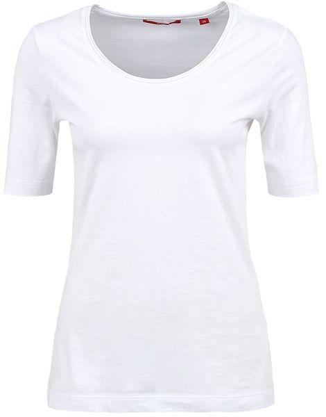 s.Oliver dámské tričko 34 bílá