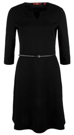 s.Oliver dámské šaty 34 čierna