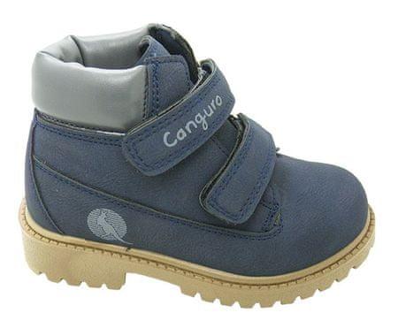 Canguro chlapecké kotníčkové boty 21 modrá
