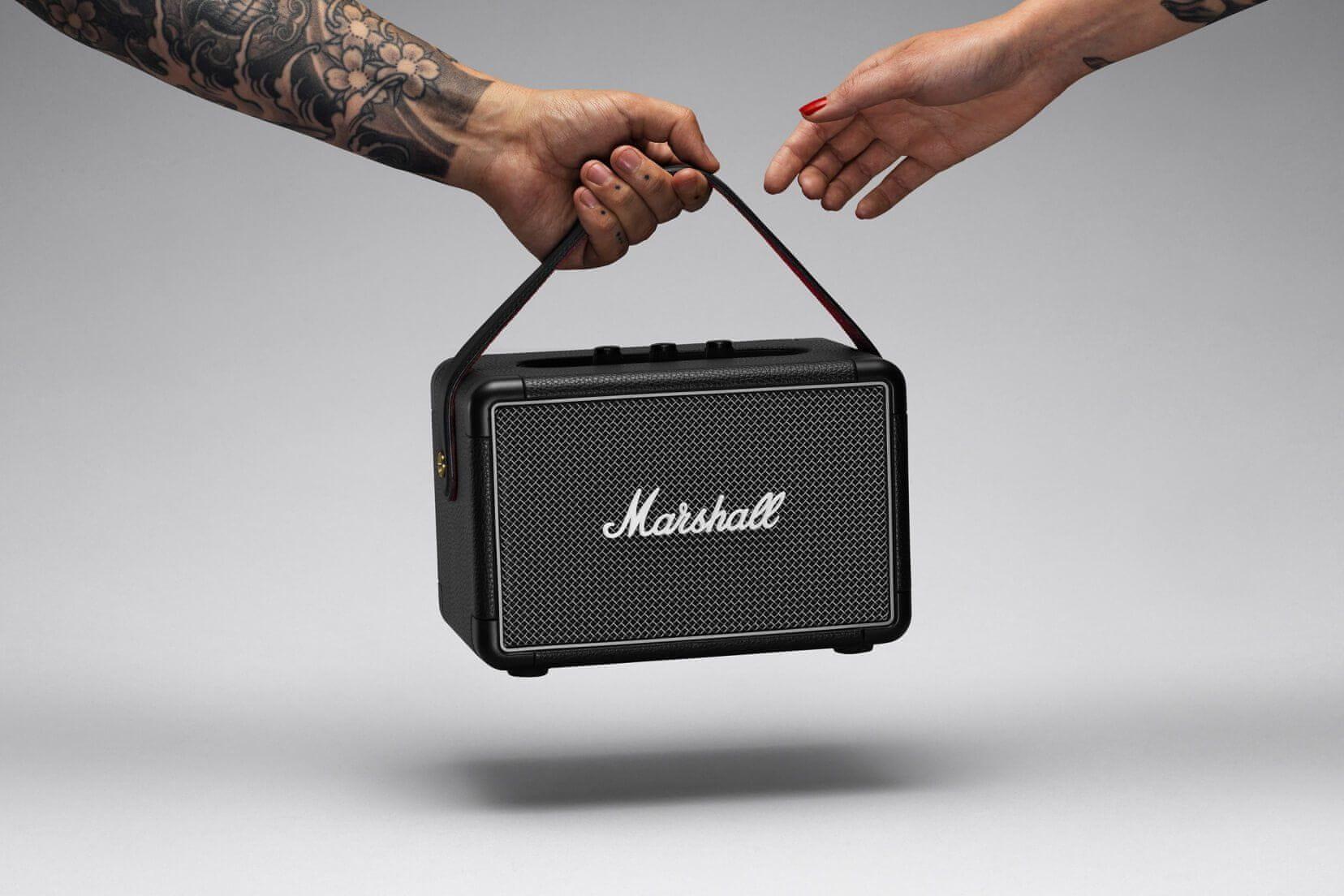 Bluetooth reproduktor Marshall Kilburn II realistický zvuk sluchátkový výstup