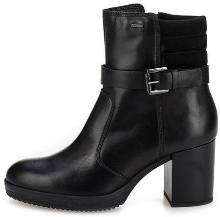 Geox dámská kotníčková obuv Remigia Np Abx 36 čierna