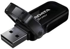 Adata 16GB USB 2.0 UV240 (AUV240-16G-RBK)