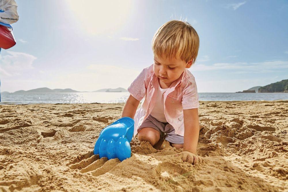 Hape Hračky na písek Velká tlapa modrá