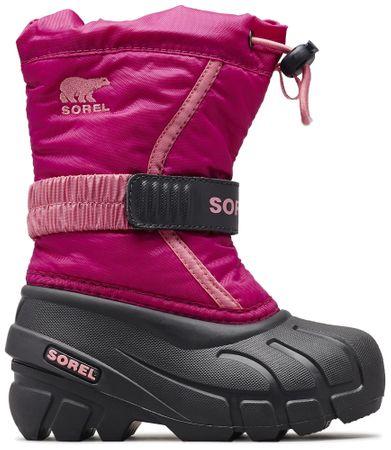 Sorel dekliški škornji FLURRY, 28, roza