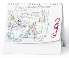 Kalendář stolní žánr. týd. Urban - Pivrncovy trefný předpovědi