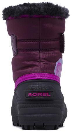Sorel dívčí sněhule SNOW COMMANDER™ 22 fialová  e4f22e144d