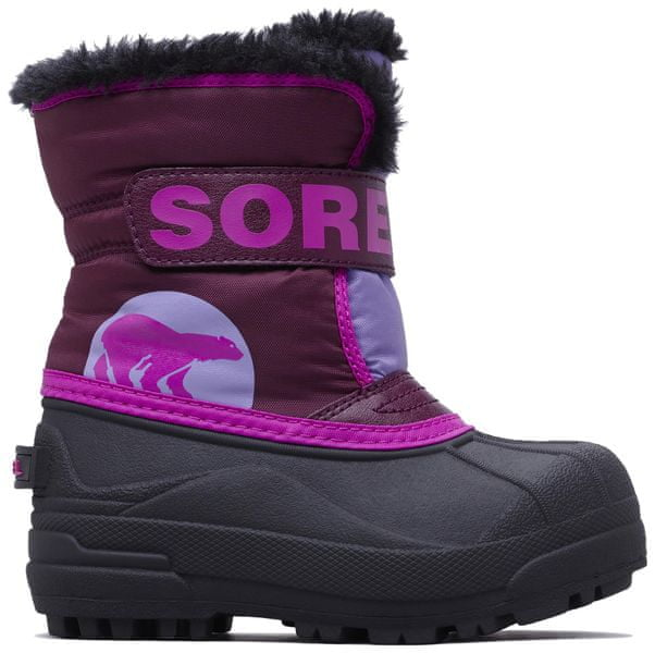 Sorel dívčí sněhule SNOW COMMANDER™ 22 fialová